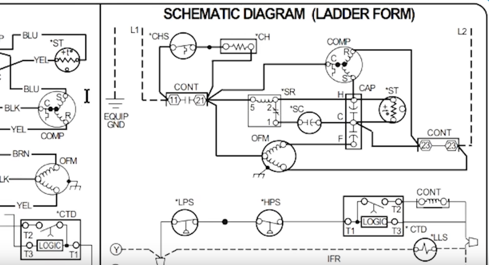 How to Read AC Schematics and Diagrams Basics - HVAC School | Hvac Wiring Schematics Diagrams And Made Easy |  | HVAC School