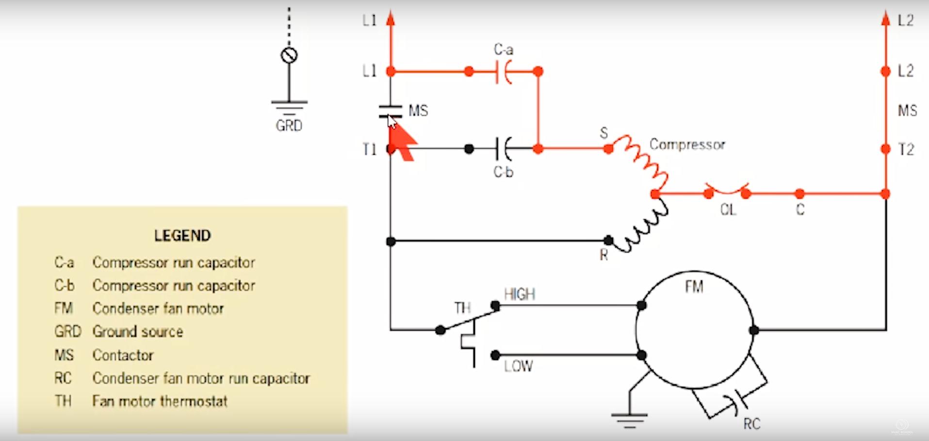 Condenser Fan Motor Windings